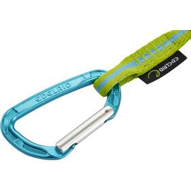 Edelrid Pure Slim Wire Set 12cm, argento/blu